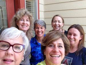 This is the group of remarkable women who joined my at my Flagstaff Retreat! Love them!